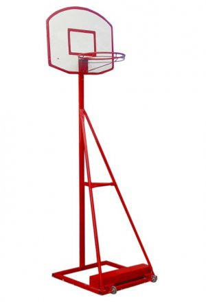 Arco - Torre de Basquetbol Juvenil dos alturas con ruedas(Movil - Movible)
