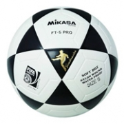 Balon Futbol Mikasa FT-5 PRO Nº5 blanco/negro