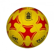 Balon de Baby Futbol Train ks432-sl amarillo/rojo