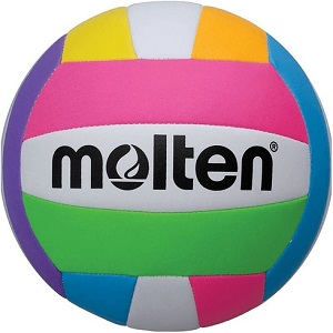 Balon de Voleibol Molten Beach-Playa MS 500 Neon