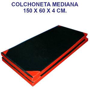 Colchoneta de ejercicio 150x60x4cm. densidad 45 oxford