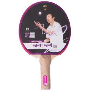 Paleta de Ping Pong Sensei 1*
