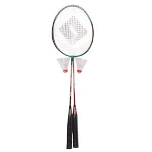 Set de Badminton Sufix 2 Raquetas y 2 Plumillas