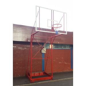 Arco - Torre de Basquetbol Oficial Transportable Desarmable - Acrilico
